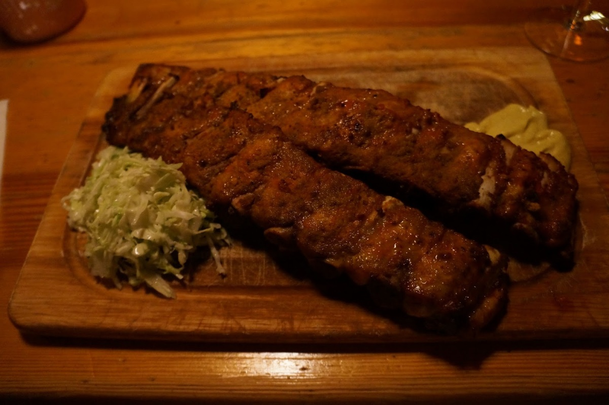 Ribs of Vienna.