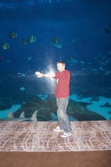 """Look, ma! I'm a fishie!"""