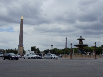 Obélisque in la Place de la Concorde