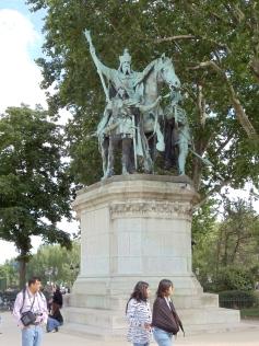 Charlemagne outside of Notre Dame