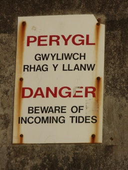 It definitely took some adjustment to see the signage in Welsh then English.