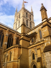 Southwark Cathedral next door.