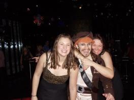 We met a pirate.