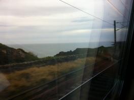 The train home.
