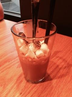 Nutella milkshake and Burny Marshmallows