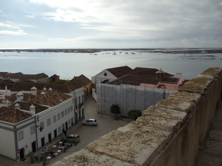 view from bell tower faro