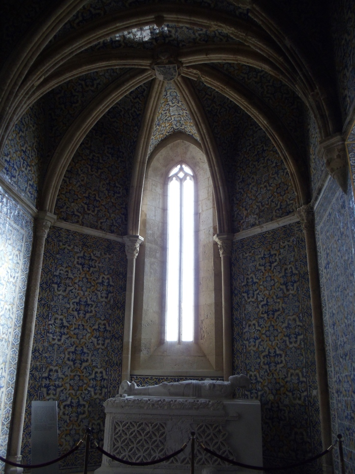 inside chapel in faro
