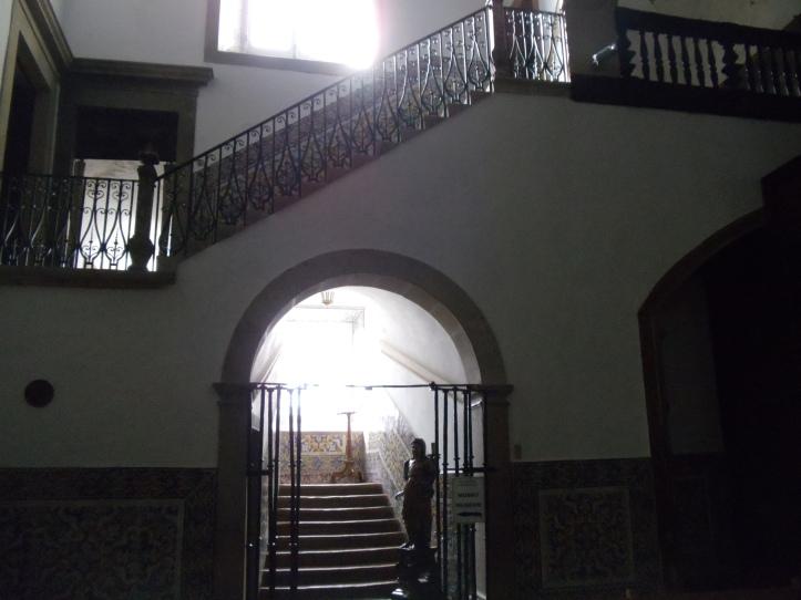 exit of faro chapel