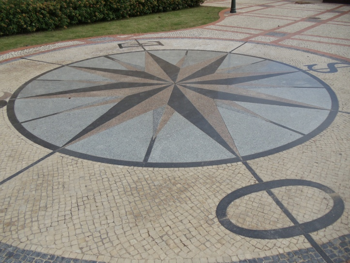 tiled compass