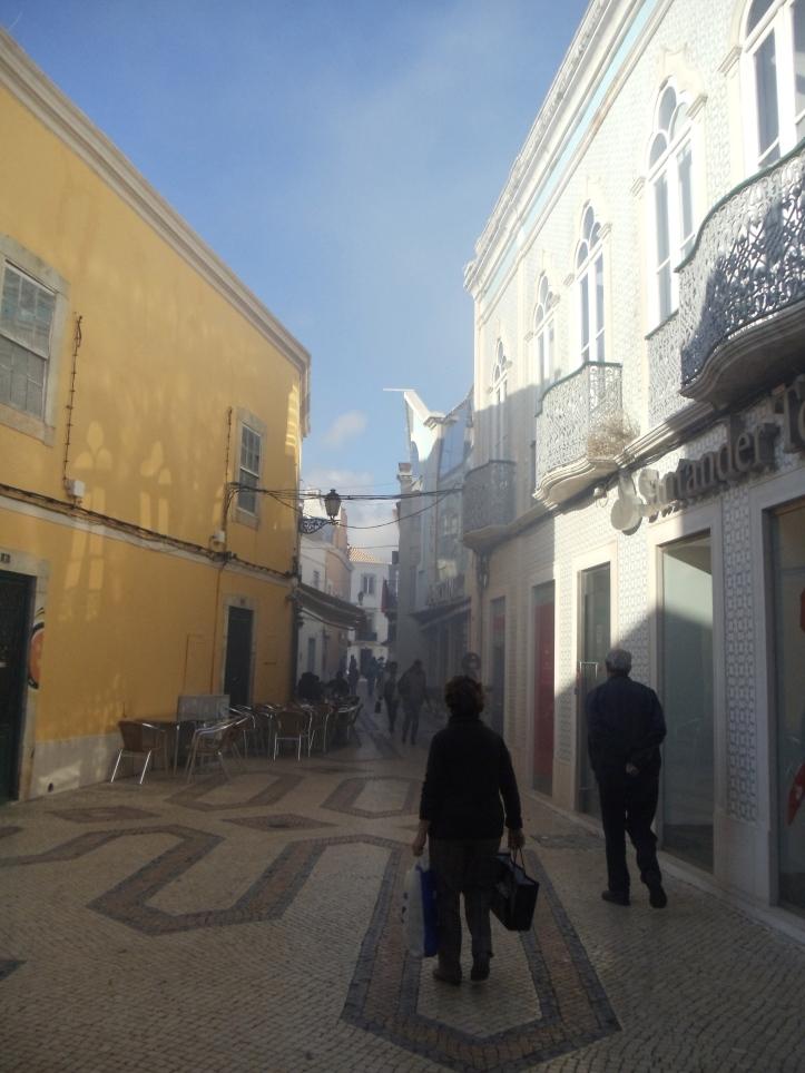 street in faro