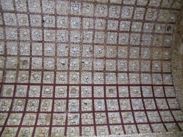 skull ceiling