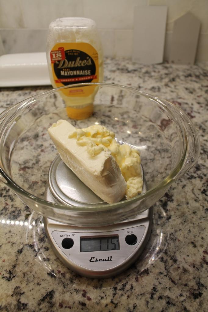 cream cheese and mayo