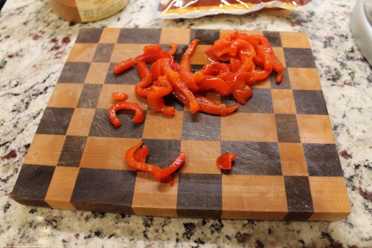 sliced pimentos