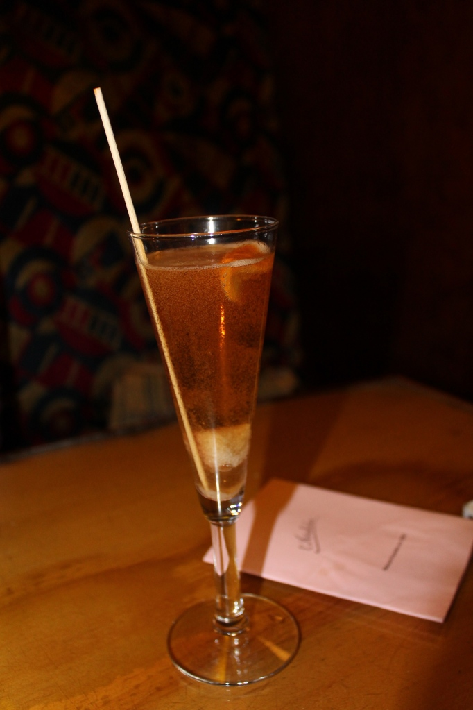L'archiduc champagne cocktail