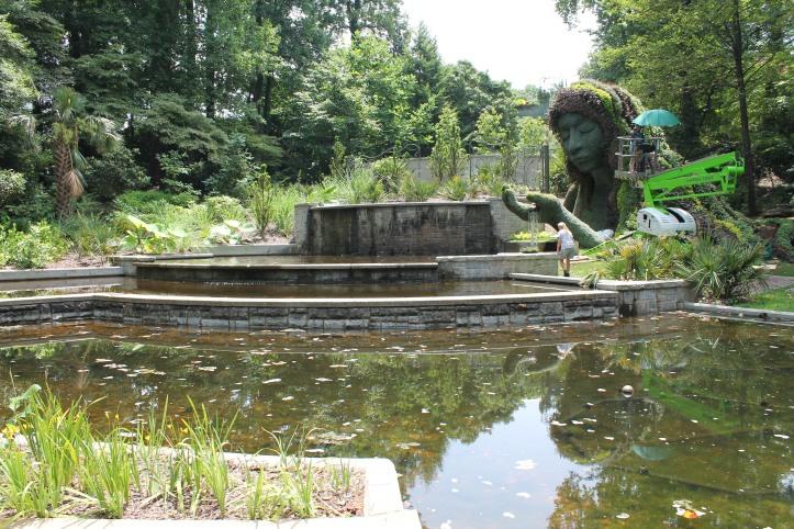 cascades garden