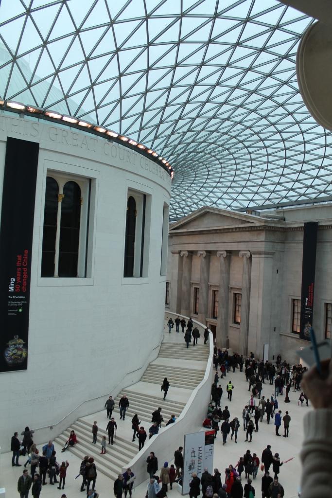 Rotunda in the British Museum