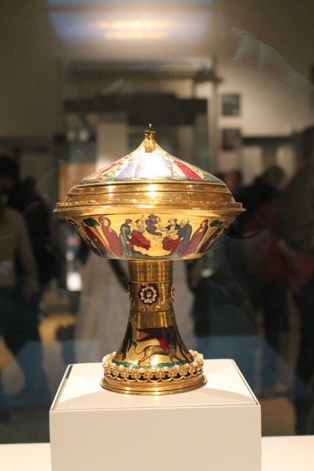 golden cup at British Museum