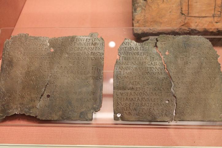 ancient text at British Museum