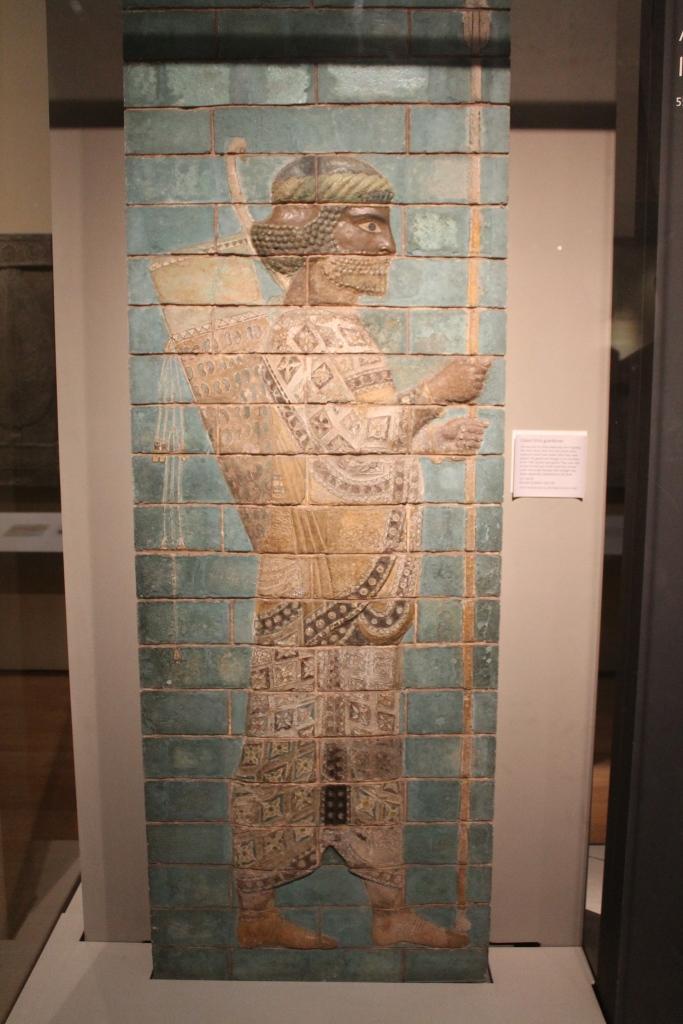 mosaic at British Museum
