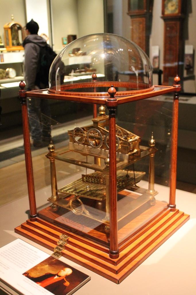 clock at British Museum