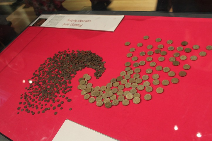 forgery coins at British Museum