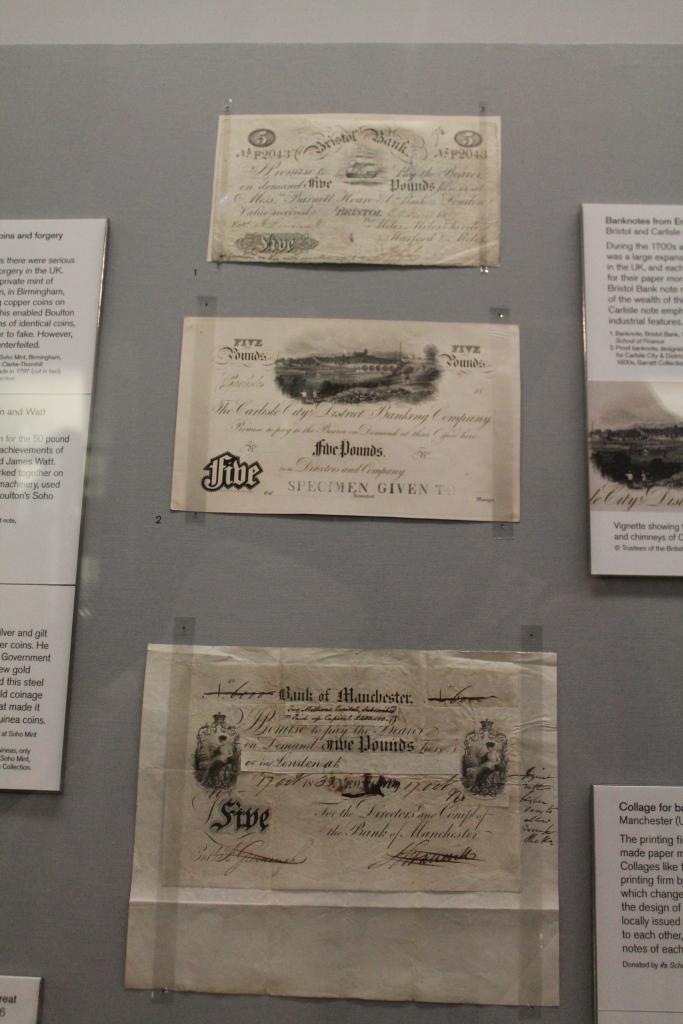 defunct money at British Museum