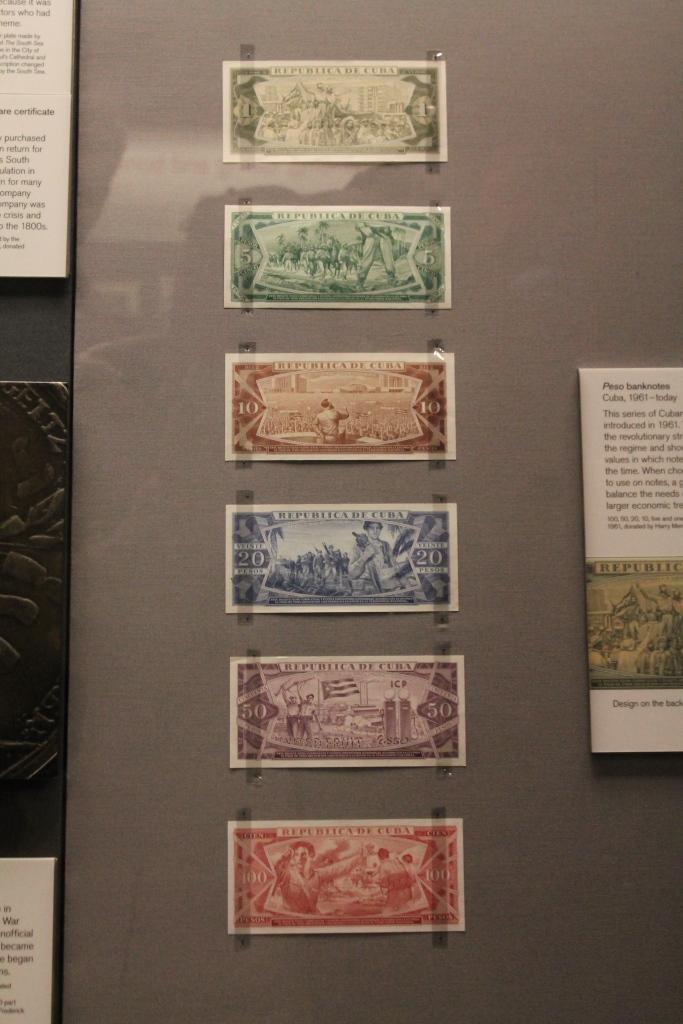 communist money at British Museum