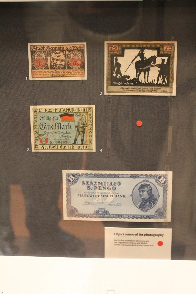 money at British Museum