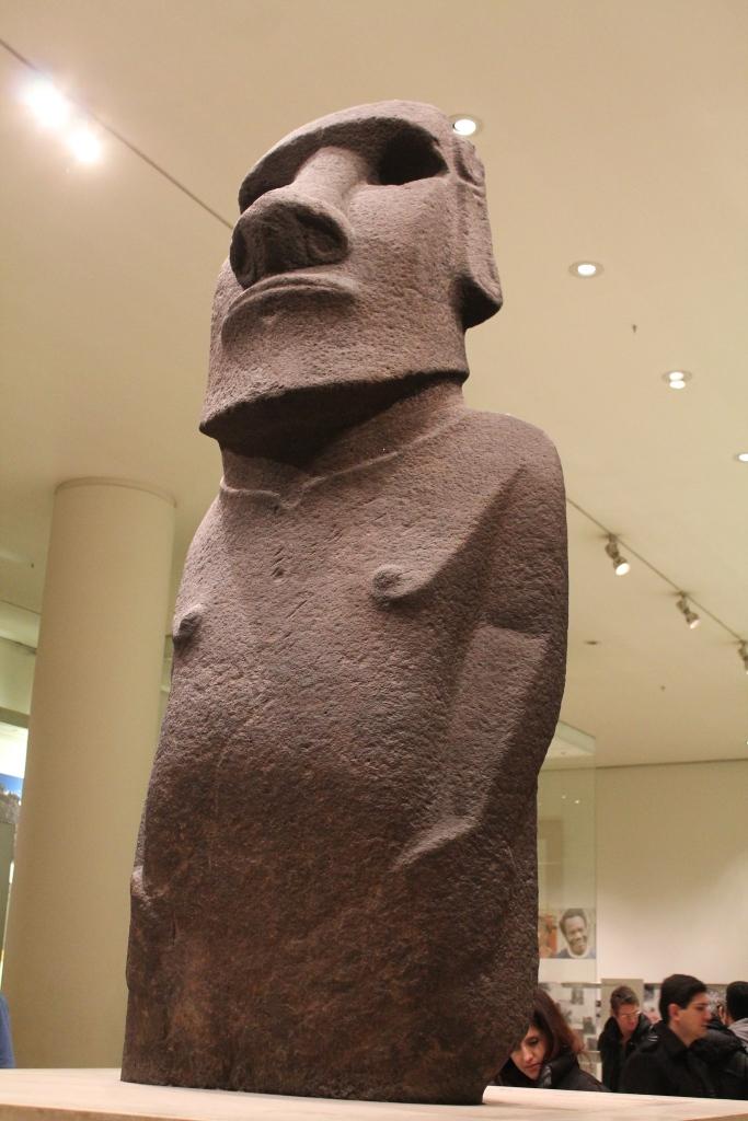Easter Island at British Museum