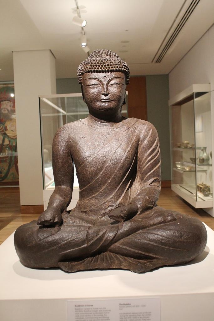 chinese buddha at British Museum