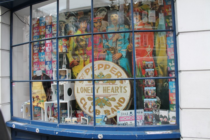 Beatles store, London