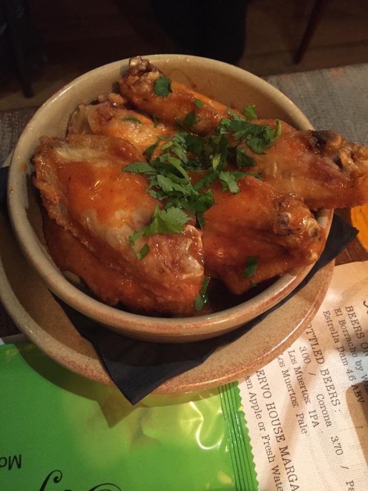 Topolabamba habanero wings