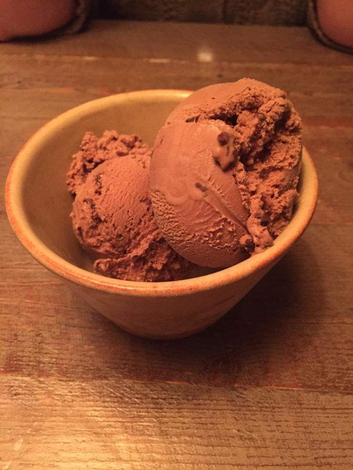 Topolabamba chocolate chilli ice cream
