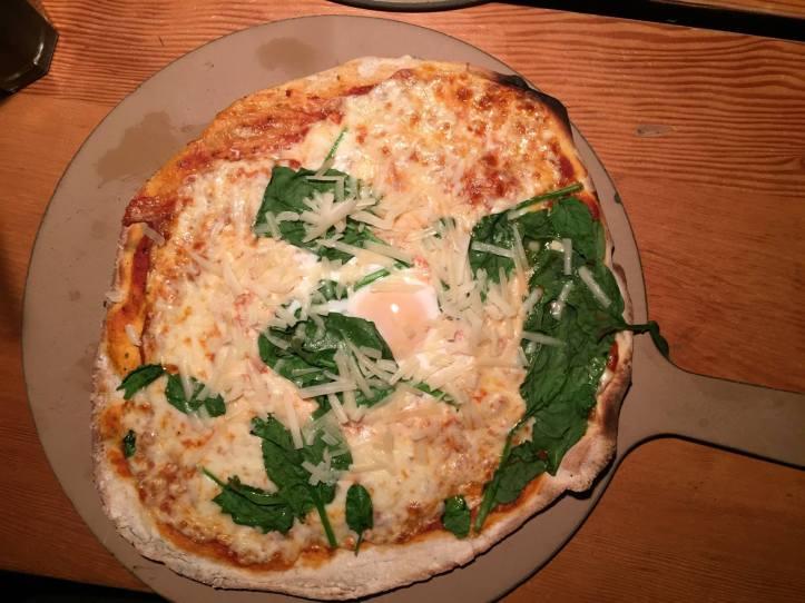 Bier Halle Florentine Pizza