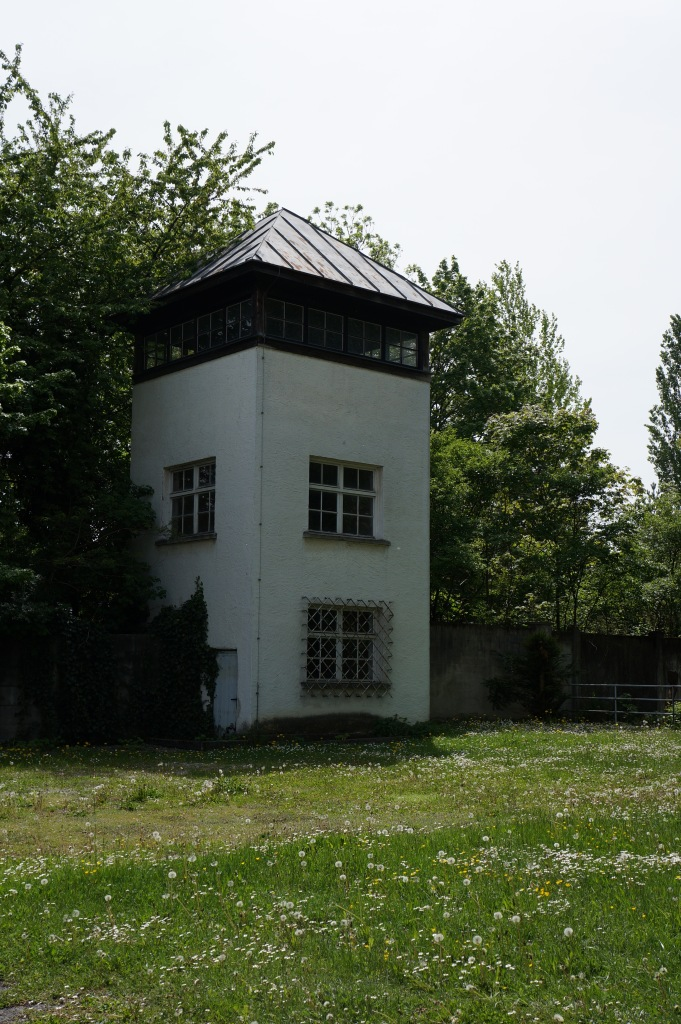 Guard Tower at Dachau Concentration Camp