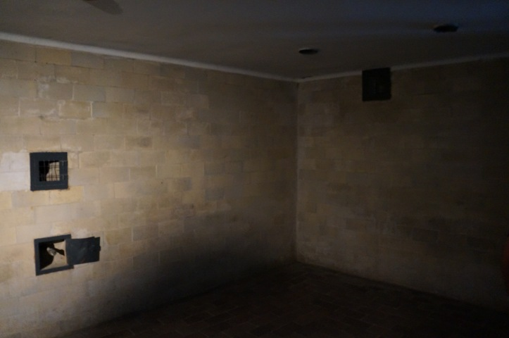 Gas showers at Dachau Concentration Camp