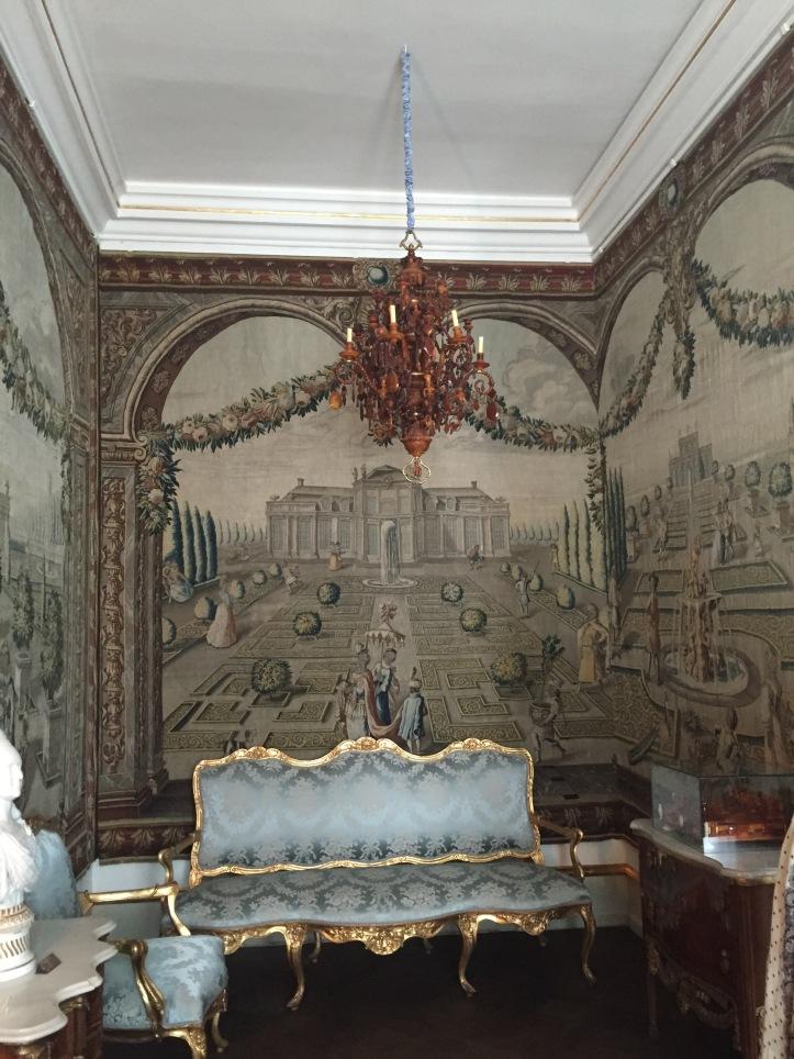 Rosenborg Slot. Copenhagen.