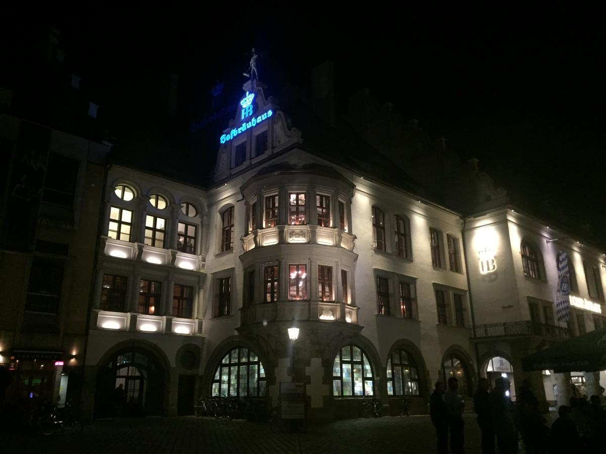 Hofbräuhaus am Platzl.