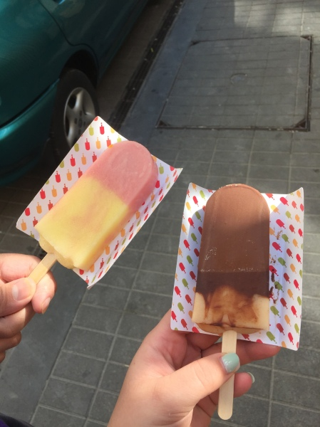 Popsicles from Popsi